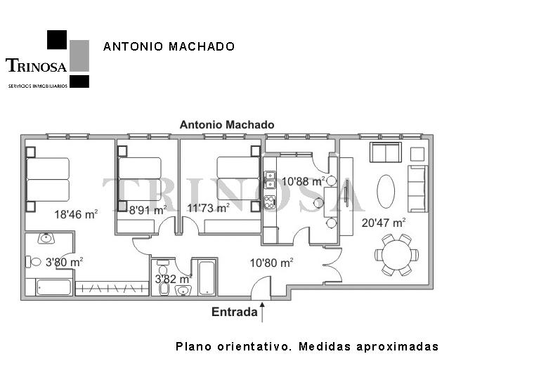 V03412-00P-PISO-PLANO-LAKUA-TRIVINSA-INMOBILIARIA