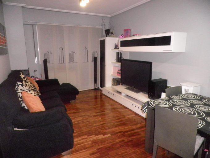 Foto del salón del piso en Judizmendi a la venta en Trivinsa inmobiliaria