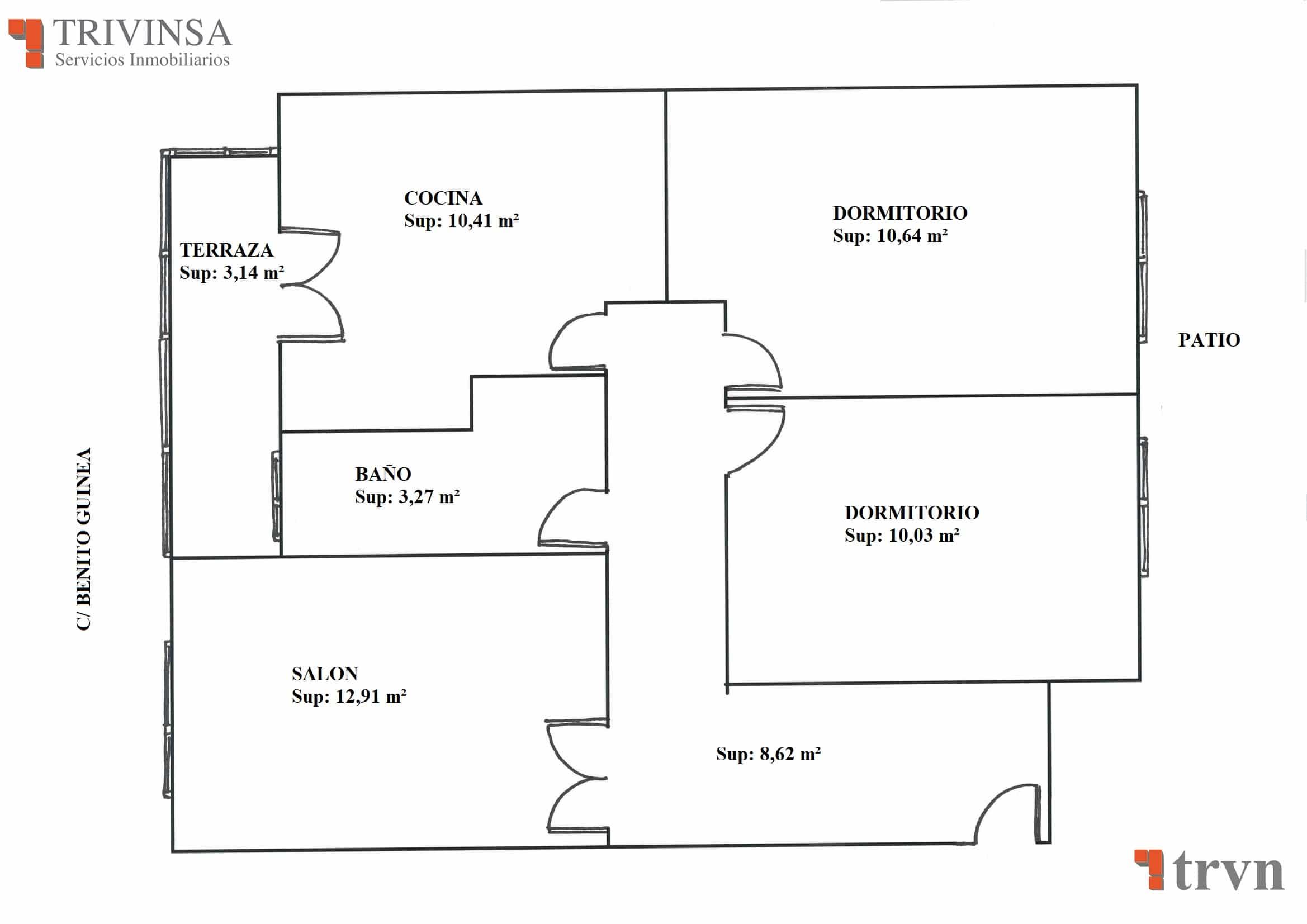 Planos del piso