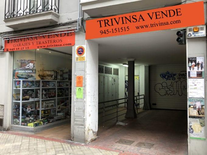Foto del garaje en el centro a la venta en Trivinsa inmobiliaria