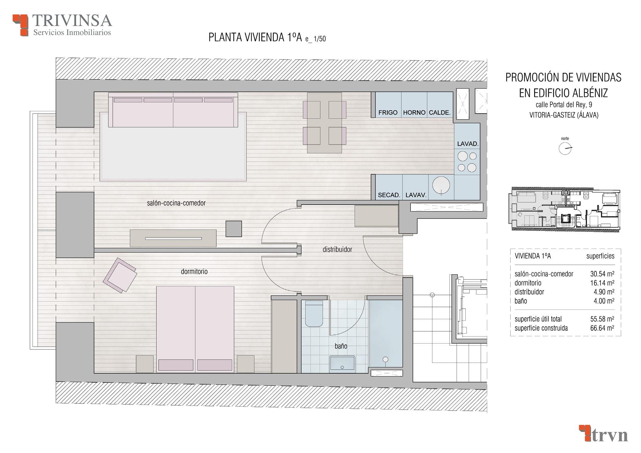 Edificio Albeniz 1º A