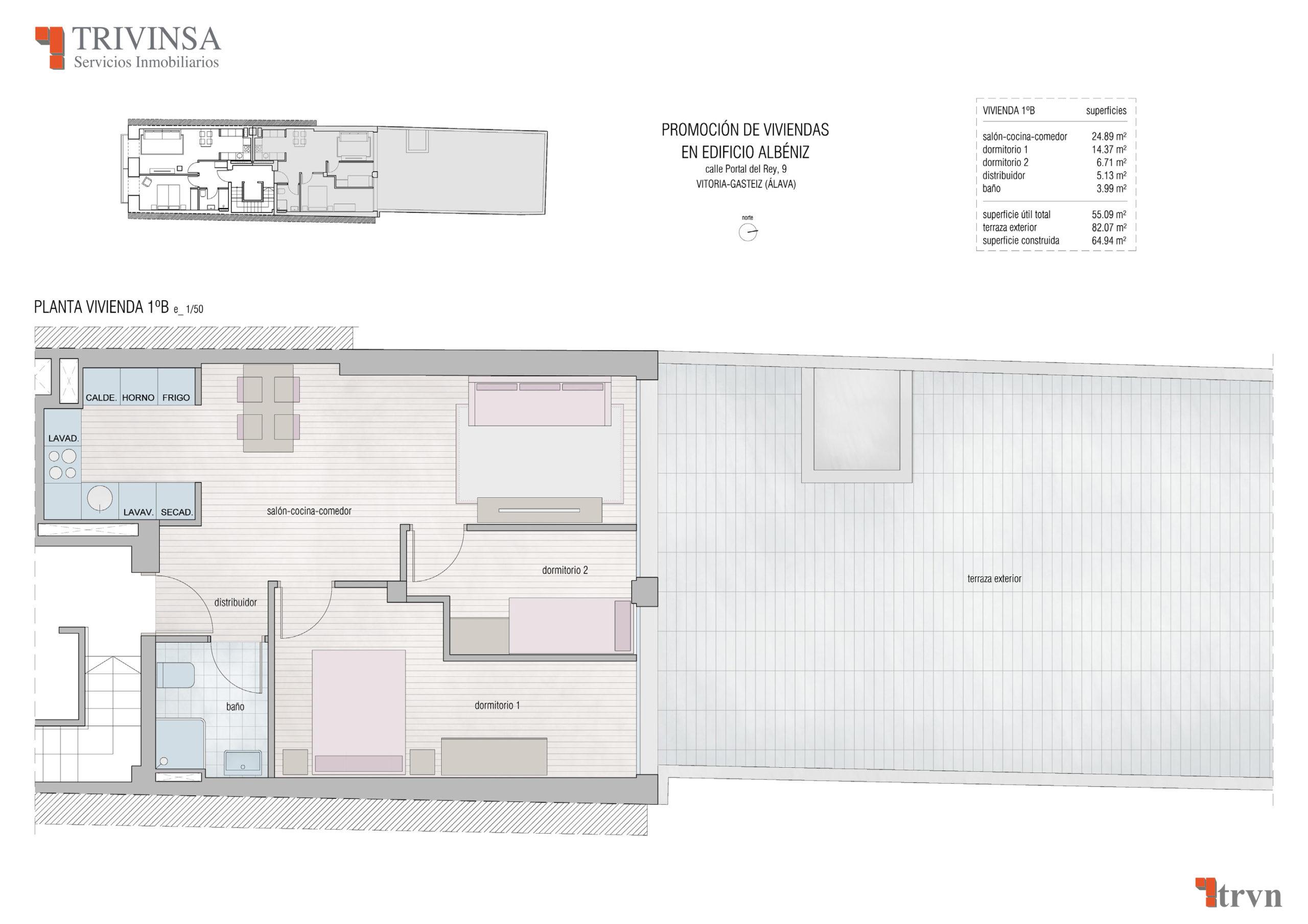 Edificio Albeniz 1º B