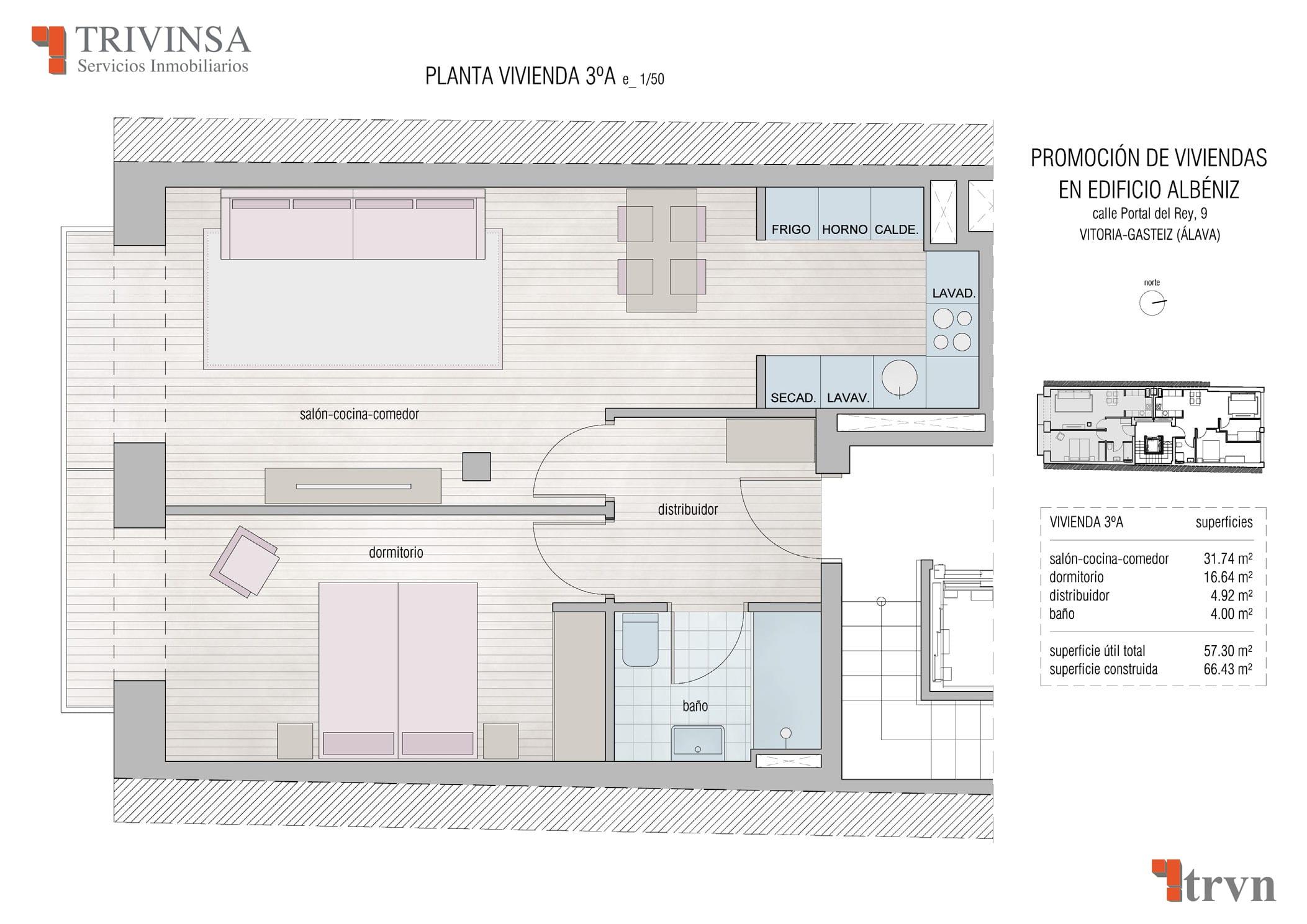 Edificio Albeniz 3º A